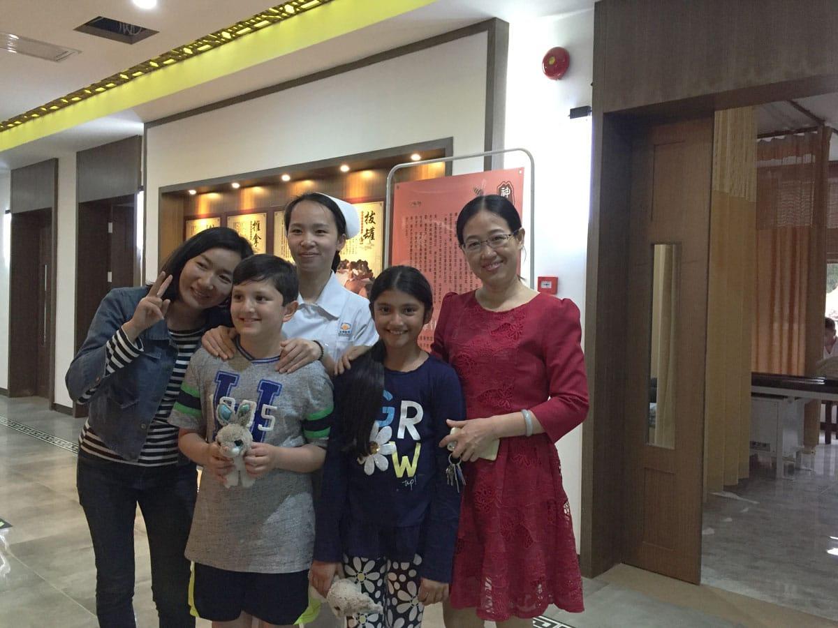 пациент в Китае для лечения аутизма стволовыми клетками